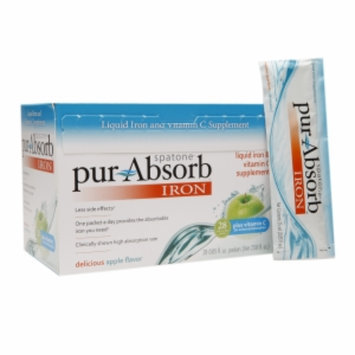 Spatone pur-Absorb Iron Packets, Apple, 28 ea