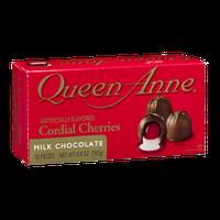 Queen Anne Cordial Cherries Milk Chocolate - 10 CT