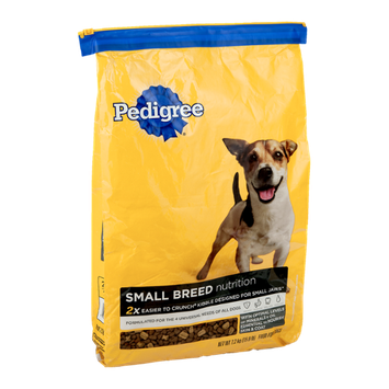 Pedigree Dog Food Small Breed Nutrition