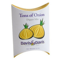 Davis & Davis Gourmet Foods Ton's Of Onions Dipper Mix, 1.2-Ounce Boxes (Pack of 12)