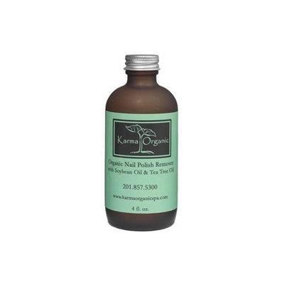 Karma Organic Nail Polish Remover with Soybean Oil and Tea Tree Oil
