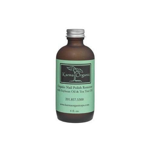 Karma Organic Nail Polish Remover with Soybean Oil and Tea Tree Oil ...
