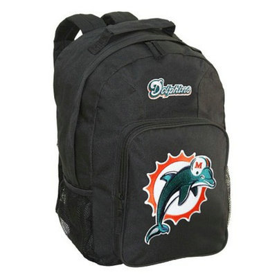 Concept One NFL Miami Dolphins Southpaw Backpack - School Supplies
