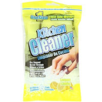 1 Step Kitchen Cleaner 6ct Lemon - Just add water - pre-soaped pads (Pack of 6)