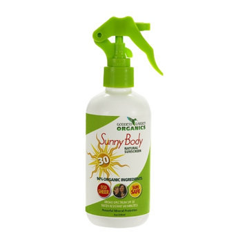 Goddess Garden Sunny Body Natural Sunscreen Spray SPF 30
