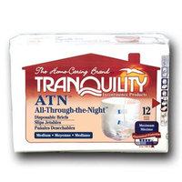 Principle Business Enterprises Tranquility ATN All-Through-the-Night Disposable Briefs - Medium - - Case of 96