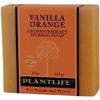 Plantlife Vanilla Orange 100% Pure & Natural Aromatherapy Herbal Soap 4 oz 113g