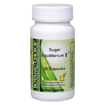 Botanic Choice Sugar Equilibrium II Herbal Supplement Capsules