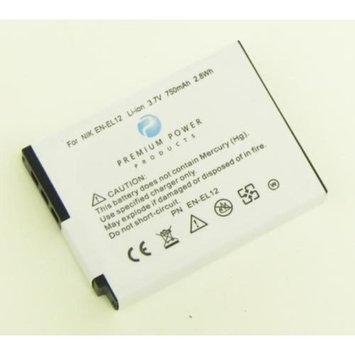 Premium Power Products Premium Power EN-EL12 Compatible Battery 750Mah En-El12 for use with Nikon Digital Cameras