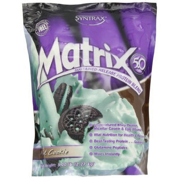 Syntrax Matrix 5, Mint Cookie Powder, 5lbs