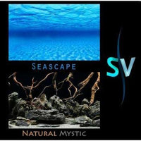 Seaview INC. Seaview AVWBGSS118 Seaview Seascape/Natural Mystic Aquarium Background, 18-Inch