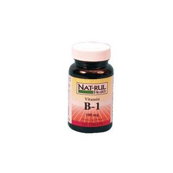 Natrul Health Vitamin B-1 100 Mg Tablets - 100 Ea