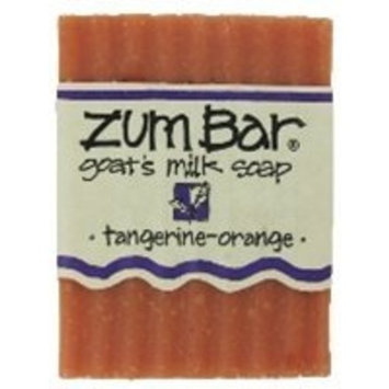 Indigo Wild - Zum Goats Milk Soap Bar Tangerine Orange 3 oz.