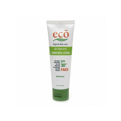ECO logical skin care Face All Natural Sunscreen Lotion  SPF 30+