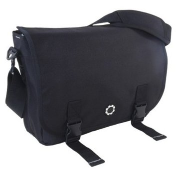 Dadgear DadGear Messenger Diaper Bag - Basic Black