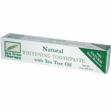 Tea Tree Therapy Natural Whitening Toothpaste 3 oz