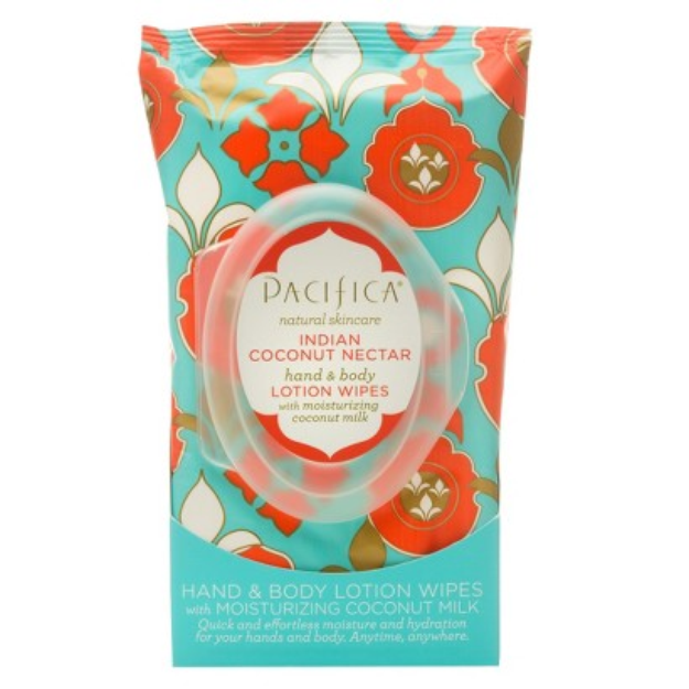 Pacifica Indian Coconut Nectar Lotion Wipes