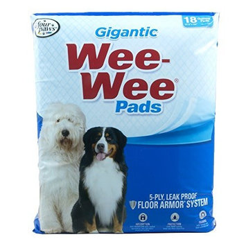 Four Paws Wee Wee Pads for Puppies to Adult Dogs
