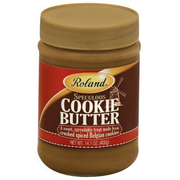 Roland Speculoos Cookie Butter, 14.1 oz, (Pack of 12)
