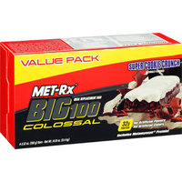 Met-Rx Big 100 Colossal Super Cookie Crunch Meal Replacement Bars