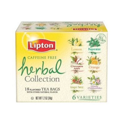 Lipton® Herbal Tea Collection, Caffeine Free
