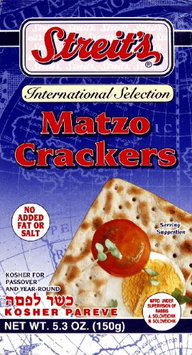 Streits Matzo Cracker Square -Pack of 12