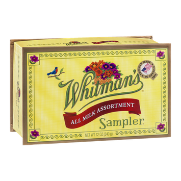 Whitman's Sampler All Milk Assortment