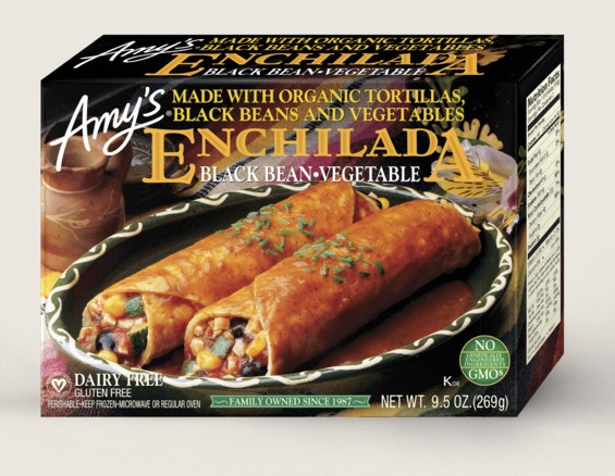 Amy's Kitchen Black Bean Vegetable Enchilada