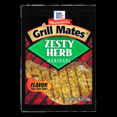 McCormick® Grill Mates® Zesty Herb Marinade