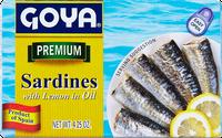 Goya® Sardines with Lemon in Oil