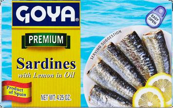 Goya Sardines with Lemon in Oil