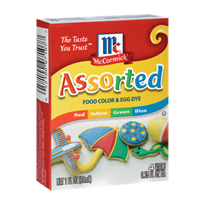 McCormick® Assorted Food Colors & Egg Dye