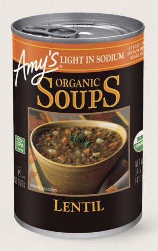 Amy's Kitchen Organic Lentil Soup, Light In Sodium