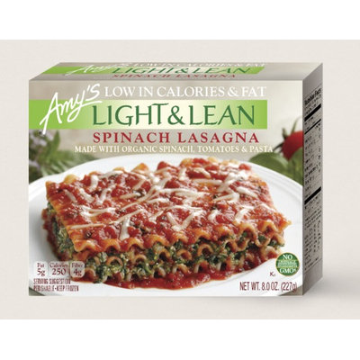 Amy's Kitchen Spinach Lasagna - Light & Lean