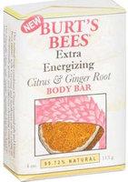 Burt's Bees Extra Energizing Citrus & Ginger Root Body Bar