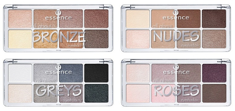 Essence All About … Eyeshadow Palette (8 shades)