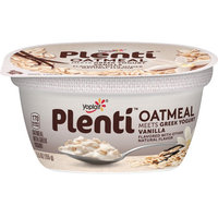 Yoplait® Plenti™ Vanilla Oatmeal With Greek Yogurt