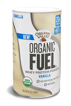 Organic Valley® Vanilla Organic Fuel Protein Powder