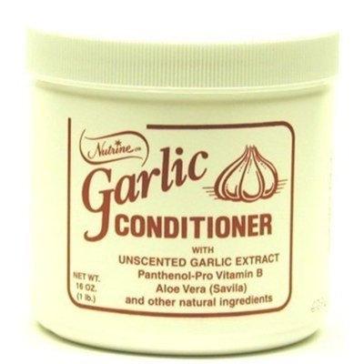 Nutrine Garlic Conditioner 16oz Jar Unscented