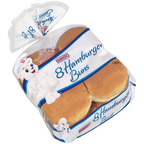Bimbo Hamburger Buns, 8 count, 11 oz
