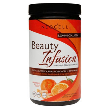 NeoCell Beauty Infusion Refreshing Collagen Drink Mix, Tangerine Twist, 15.87 oz