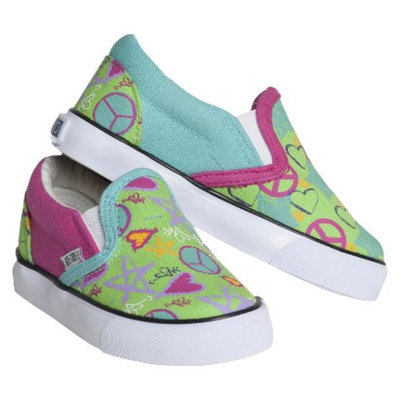 Toddler Girl's Xolo Shoes Doodle 2 Twin Gore Canvas Sneakers -