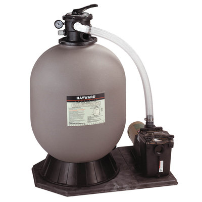 Topo-logic Systems, Inc. Hayward Pro Series High Rate Sand System 24 in Tank 1HP Super Pump