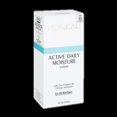 L'Oréal Paris Active Daily Moisture Lotion with SPF 15 Sunscreen