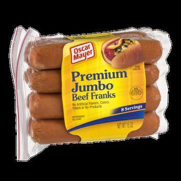 Oscar Mayer Premium Jumbo Beef Franks - 8 CT