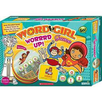 WordGirl Worrrd Up! Game Ages 6 and up, 1 ea