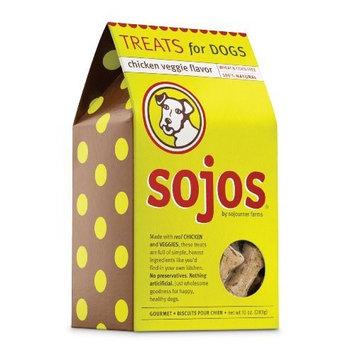 Sojos Dog Treats, Chicken Veggie