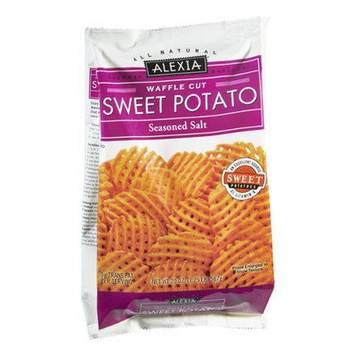 Alexia Waffle Cut Seasoned Salt Sweet Potato