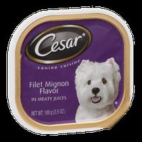 Cesar Canine Cuisine Filet Mignon Flavor