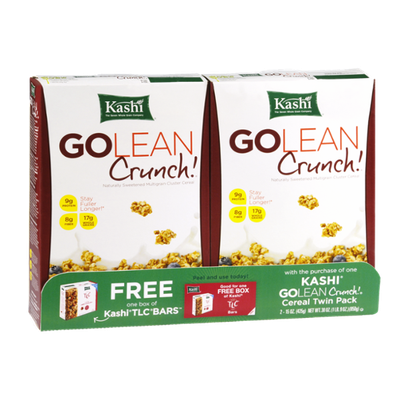 Kashi Go Lean Crunch Multigrain Twin Pack Cereal - 2 Ct